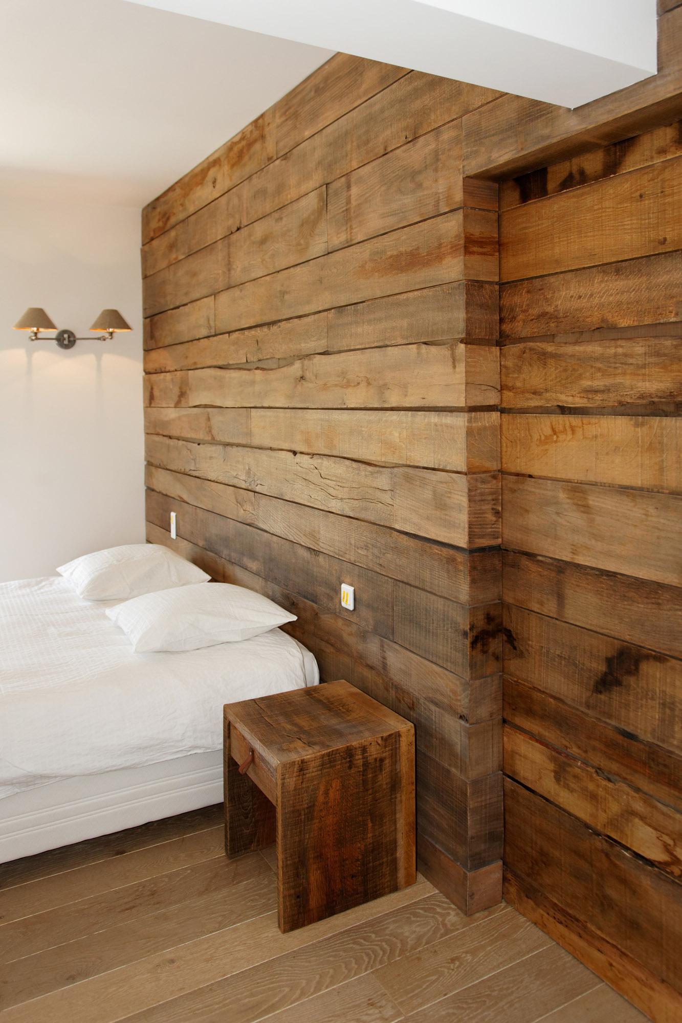 Bois Pour Mur Chambre chambre de villa à grimaud (bv) • menuiserie rafflin